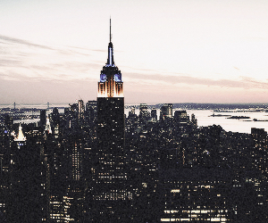 city, new york, and traveling image