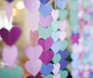 hearts, heart, and colorful image