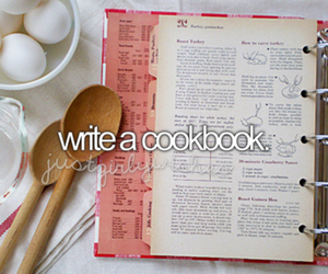 bucket list, food, and cook image