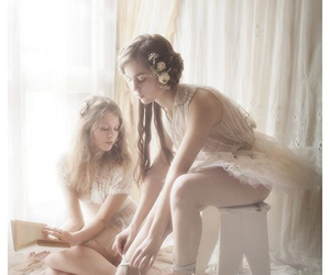 ballet, pale, and ballerina image