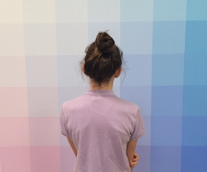 girl, colors, and pink image