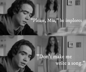 if i stay, book, and couple image