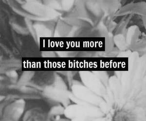love, quote, and bitch image
