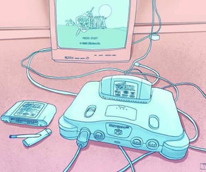 game, pink, and pastel image