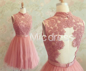 lace dress, bridesmaid dress, and party dress image