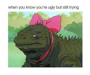funny, ugly, and lol image