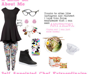 about me, chef, and curvygeekyfangirl image