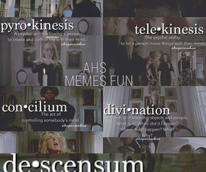 coven, ahs, and Seven Wonders image