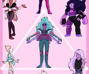fusion, steven universe, and amethyst image