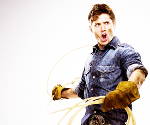 Jensen Ackles, supernatural, and cowboy image
