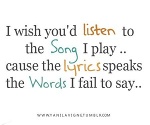 song and Lyrics image