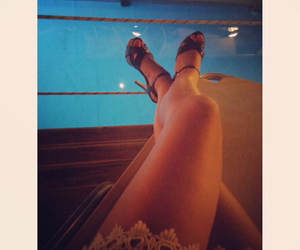 body, legs, and summer image