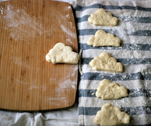 baking, clouds, and food image