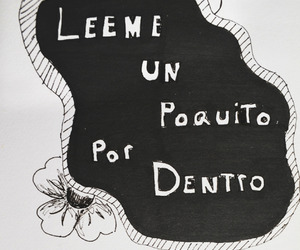 black and white, frases en español, and fases image