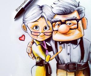love, disney, and pixar image