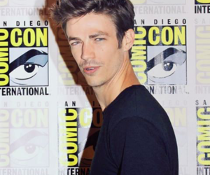 comic con, the flash, and grant gustin image