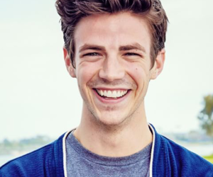 the flash, grant gustin, and cute image