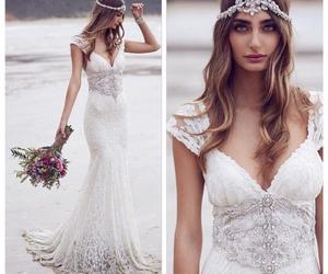 sea and beach wedding image