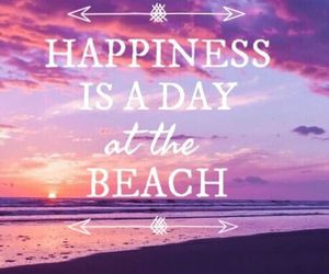 beach, happiness, and sunset image