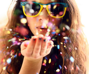 glitter, sunglasses, and sparkling image