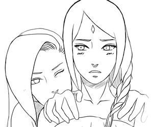 ino, sakura, and sakura haruno image