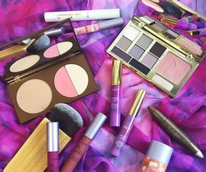 makeup, fashion, and girly image