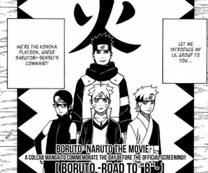 hinata, sasuke, and sarada image