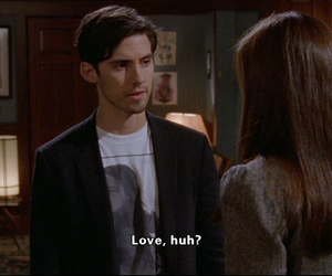 gilmore girls and love image