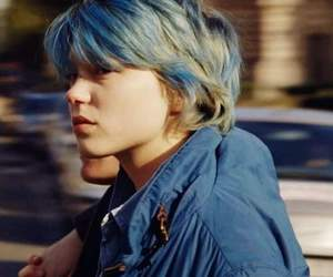 Lea Seydoux, blue, and emma image