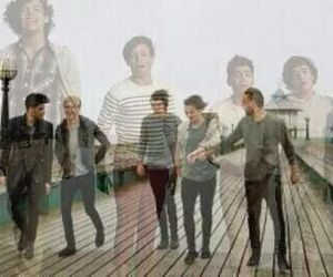 one direction, zayn malik, and niall horan image