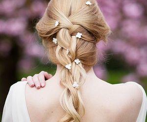 beauty, bridal, and hair image