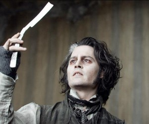 sweeney todd and johnny depp image