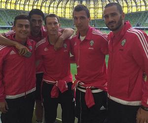 Juventus, sami khedira, and leonardo bonucci image