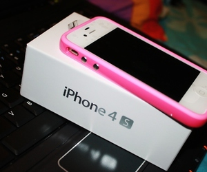 iphone, pink, and photography image