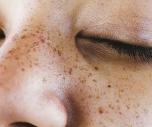 freckles, eyes, and tumblr image