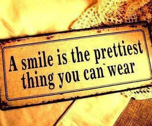 smile, quote, and pretty image