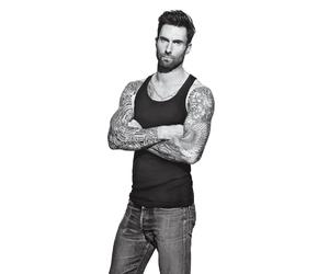 adam, Tattoos, and adam levine image