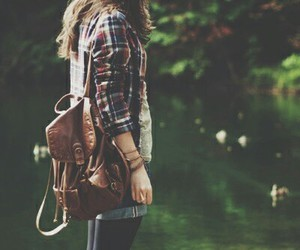 girl, beautiful, and adventure image