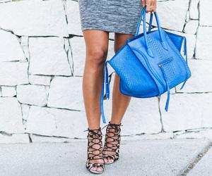bag, celine, and heels image