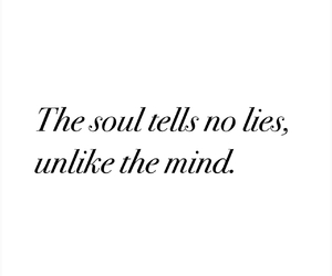 quote, soul, and lies image