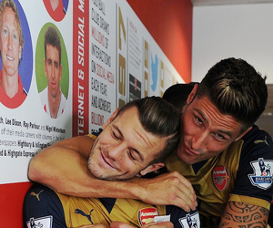 Arsenal, jack wilshere, and gunners image