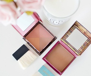 benefit, cosmetics, and flowers image