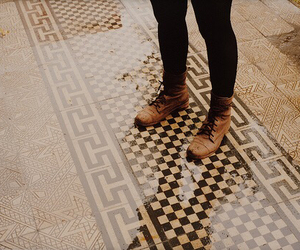 vintage, shoes, and grunge image