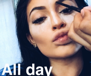 kylie jenner, jenner, and snapchat image