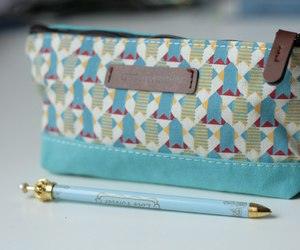 blog, girl, and pencil case image