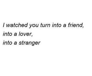 strangers, friends, and lover image