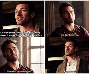 teen wolf, derek hale, and peter hale image