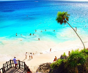 beach, Island, and places image