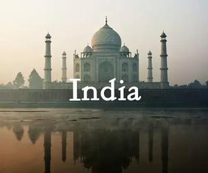 india, taj mahal, and place image