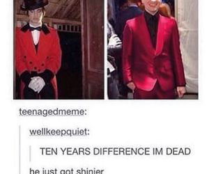 brendon urie, jokes, and tumblr image